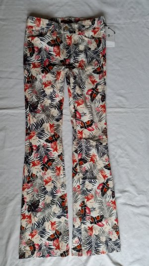 7 for all mankind, Hose Charlize, Floral Paradise, Gr. 28, neu, € 300,-