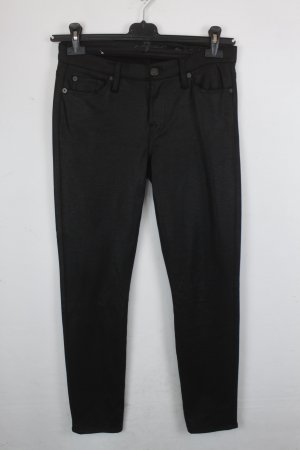 7 For All Mankind Hose Gr. 30 schwarz (18/5/197)