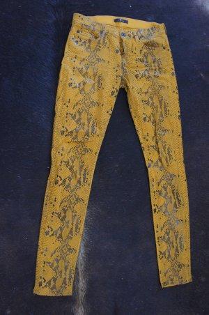 7 for all mankind Hose Größe 26 Neuwertig Jeans Lederlook