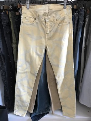 7 For All Mankind Lage taille broek wit-room