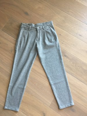 7 For All Mankind Pantalón tobillero gris