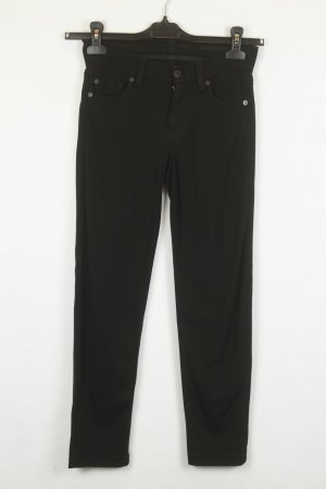 7 for All Mankind Hose Stoffhose Gr. 25 schwarz | Modell: Gwenevere