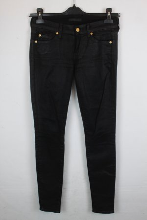 7 for All Mankind Hose Stoffhose Gr. 26 schwarz (18/3/100)