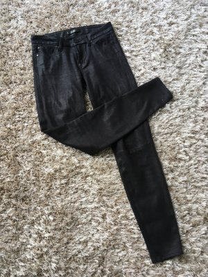 7 for all mankind Hose, veloursleder Optik