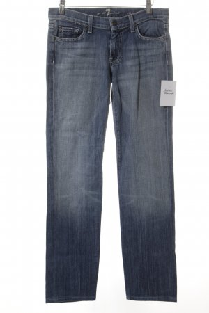 7 For All Mankind Hüftjeans blassblau Casual-Look