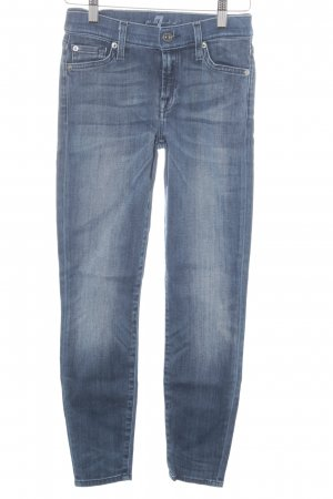 7 For All Mankind Jeans vita bassa blu stile casual