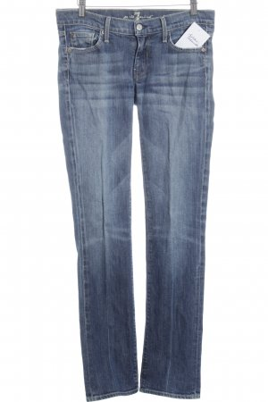 7 For All Mankind Vaquero hipster azul oscuro look lavado