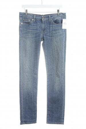 7 For All Mankind Vaquero hipster azul claro look Street-Style