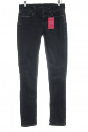 7 For All Mankind Low Rise Jeans black casual look