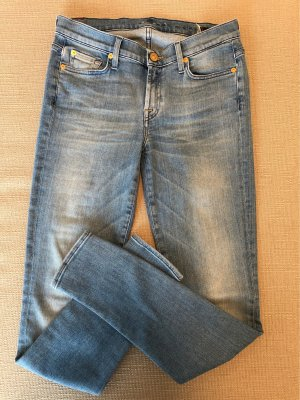 7 For All Mankind Vaquero skinny azul celeste