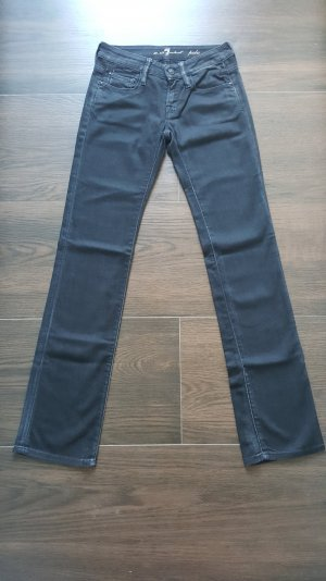 7 for all mankind Jeans 26 Pola schwarz Straight-Leg