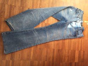 7 For All Mankind Boot Cut spijkerbroek lichtblauw