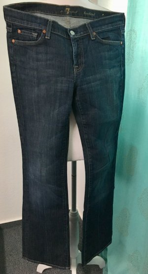 7 For All Mankind Jeans svasati blu Tessuto misto
