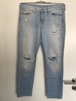 7 For All Mankind 7/8-jeans azuur