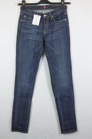 7 For All Mankind Jeans Bootcut Gr. 24/25 dunkelblau