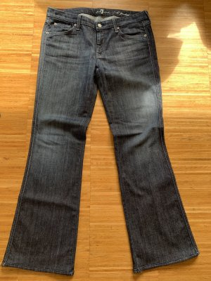 7 For All Mankind Boot Cut spijkerbroek donkerblauw