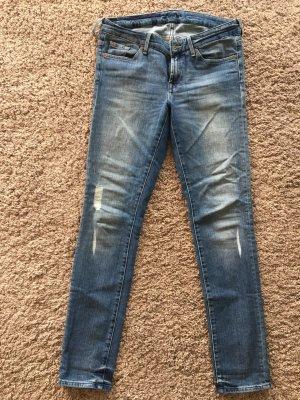 7 for all mankind Jeans, Cristen, Skinny, in Größe 30/32