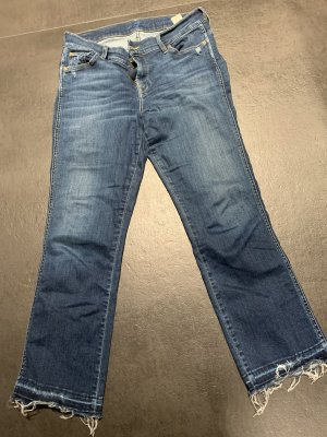 7 For All Mankind Jeans 7/8 bleuet