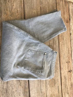 7 For All Mankind Vaquero de corte bota gris tejido mezclado