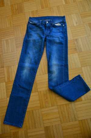 7 For All Mankind Jeans blu Cotone