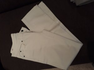 7 For All Mankind Vaquero rectos blanco