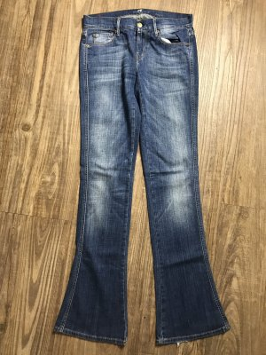 7 For All Mankind Denim Flares blue