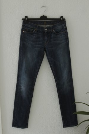 7 For All Mankind Jeans Gr. 28 blau denim Mod: Roxanne