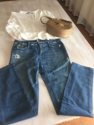 7 For All Mankind Vaquero rectos multicolor