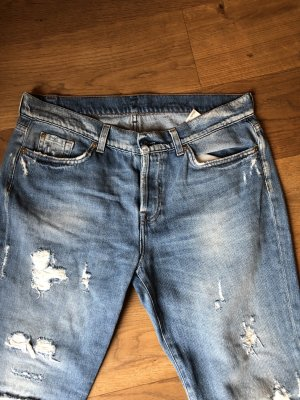 7 For All Mankind Jeans boyfriend blu