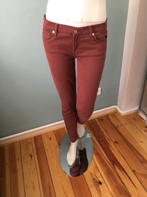 7 For All Mankind Jeans skinny bordeaux