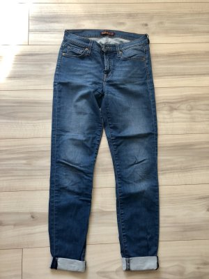 7 For All Mankind Jeans cigarette multicolore