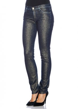 7 for all mankind jeans Marine/Gold W25L30