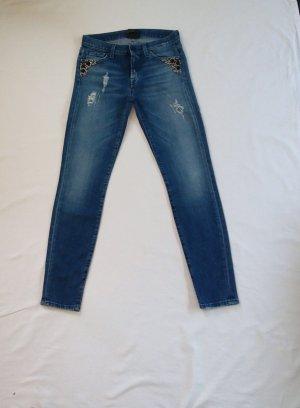 7 for all mankind Jeans mit Steinbesatz