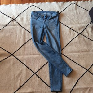 7 For All Mankind Skinny Jeans azure cotton