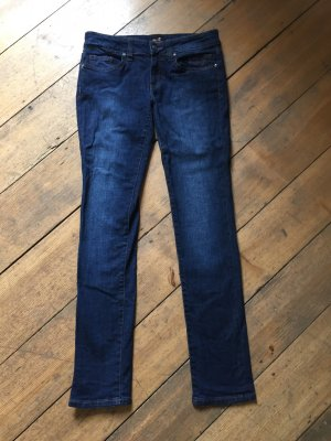 "7 for all mankind Jeans, Modell ""Skinny Medium Rise"". Gr. 28, NEU"