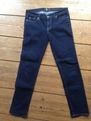 7 For All Mankind Vaquero slim azul Algodón