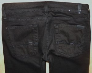 7 For All Mankind Jeans ROXANNE Coloured Denim W27 NP.179 NEU!