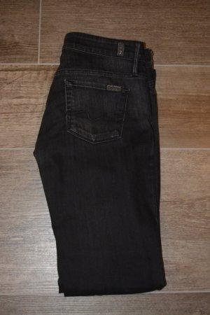 7 for all mankind Jeans schwarz, Größe 29 (36/38)