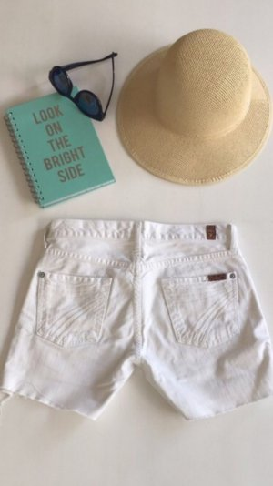 7 for all mankind Jeans Shorts hose 26