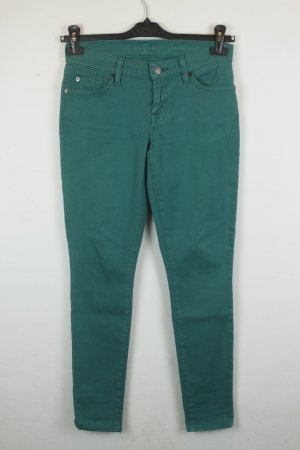 7 for all mankind Jeans Skinny Gr. 26 grün | Modell: Gwenevere