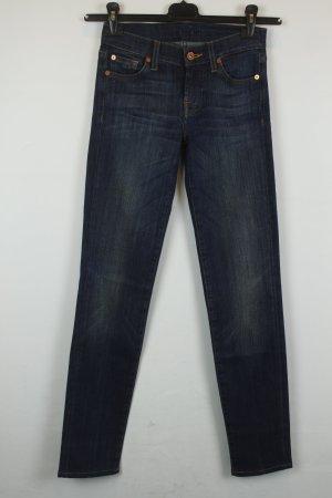 7 For All Mankind Slim Jeans dark blue cotton