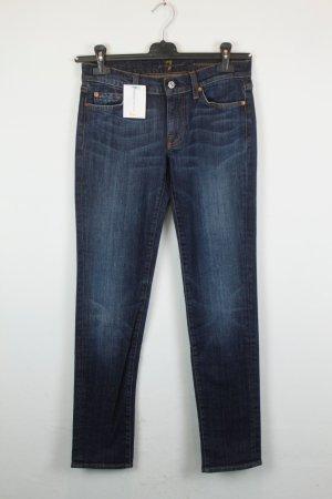 7 For All Mankind Jeans Slim Fit Gr. 27 dunkelblau | Modell: Roxanne