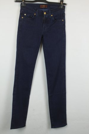 7 For All Mankind Jeans Slim Fit Silk Touch Gr. 24 | Modell: Roxanne