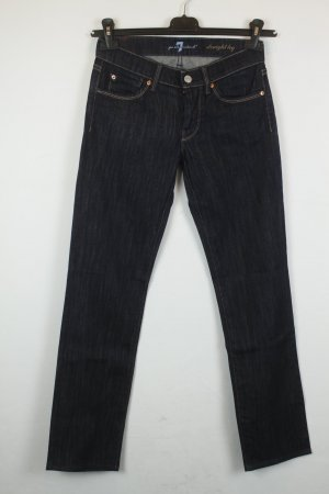 7 For All Mankind Jeans Straight Leg Gr. 25