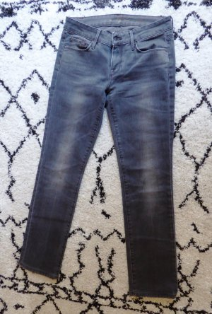 7 For All Mankind Vaquero rectos gris oscuro-gris antracita