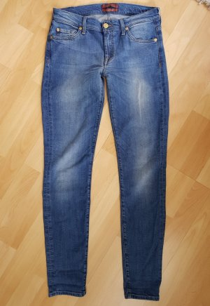 7 For All Mankind Jeans the skinny silk touch W28 NP.199€