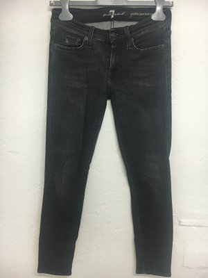 7 for all mankind jeans - used black