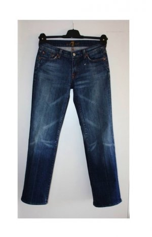7 For All Mankind Vaquero skinny azul Algodón