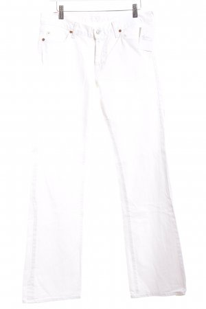 7 For All Mankind Vaquero blanco look casual
