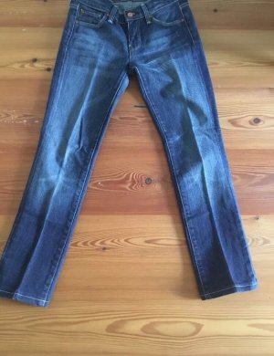 7 For All Mankind Vaquero rectos azul acero